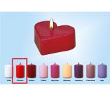 Lima Plávajúce sviečka srdiečko červené 60 x 60 x 25 mm 1 kus