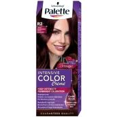 Palette Intensive Color Creme farba na vlasy odtieň R2 Tmavo mahagónový