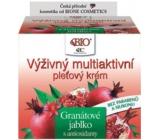 Bione Cosmetics Bio Granátové jablko výživný multiaktivní pleťový krém 51 ml