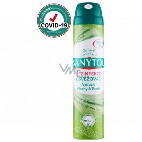 SANYTOL Mentol čistí vzduch a dezinfikuje všetky povrchy a textil 300 ml