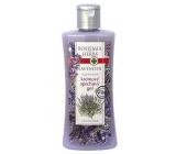 Bohemia Herbs Lavender regenerační krémový sprchový gel 250 ml
