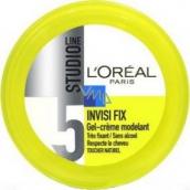 Loreal Paris Studio Line Invisi Fix modelační gelový krém na vlasy s minerály 150 ml