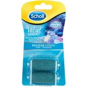 Scholl Velvet Smooth Regular Coarse stredne drsné s morskými minerálmi náhradné hlavice do elektrického pilníka 2 kusy