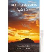 Dolce & Gabbana Light Blue Sunset in Salina toaletní voda pro ženy 2 ml, Vialka