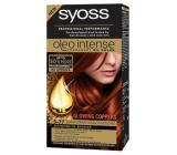 Syoss Oleo Intense Color barva na vlasy bez amoniaku 5-77 Zářivý červený kaštan