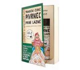 Bohemia Gifts Pivrnec Extrakt z pivných kvasníc a chmeľu sprchový gél 200 ml + šampón na vlasy 200 ml kniha kozmetická sada