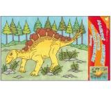 Maľovanie vodou dinosaury č.4 28 x 21 cm