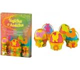 Sada k dekorovanie vajíčok - Vajíčka v košíčku 7721 0580