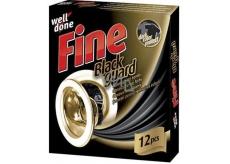 Well Done Fine Black Guard ubrousky na praní pro obnovu černé barvy 12 kusů