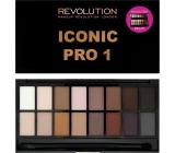 Makeup Revolution Iconic Pre 1 Palette paletka očných tieňov 16 g