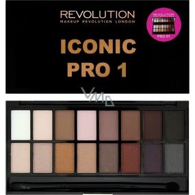 Makeup Revolution Iconic Pre 1 paletka očných tieňov 16 g