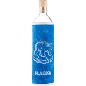 Masaru Emoto Biolahev cestovné, športové revitalizačné fľaša pre deti Polárny medveď 0,5 l