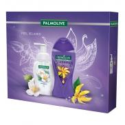 Palmolive So Relaxed sprchový gél pre ženy 250 ml + Magic Softness Jasmine penové mydlo na ruky 250 ml, kozmetická sada