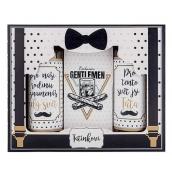 Bohemia Gifts & Cosmetics Pre otecka - Gentleman sprchový gél 100 ml + šampón 100 ml + soľ do kúpeľa 110 g, kozmetická sada