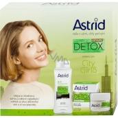 Astrid CityLife Detox hydratačný rozjasňujúci denný krém 50 ml + 3v1 micelárna voda 400 ml, kozmetická sada