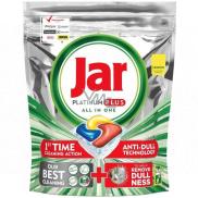 Jar Platinum Plus All in One Lemon kapsule do umývačky riadu 30 kusov