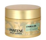 Pantene Strong & Long Bambus a Biotín obnovujúci keratínová maska proti vypadávaniu vlasov 160 ml