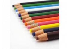 Uni Mitsubishi Dermatograph Priemyselná popisovacie ceruzka pre rôzne typy povrchov Žltá 1 kus