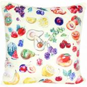 Albi Relaxačný vankúš veľký Ovocie 50 x 50 cm
