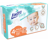 Linteo Baby Premium 4+ Maxi 10 - 17 kg jednorazové plienky 46 kusov