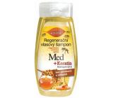 Bion Cosmetics Med a Keratin Q10 Koenzým regeneračný šampón na vlasy 260 ml
