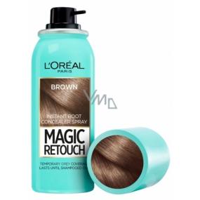 Loreal Paris Magic Retouch vlasový korektor šedin a odrostů 03 Brown 75 ml