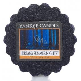 Yankee Candle Dreamy Summer Night - Zasněné letní noci vonný vosk do aromalampy 22 g