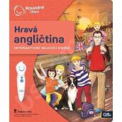 Albi Kúzelné čítanie interaktívne hovoriace kniha Hravá angličtina, vek 6+