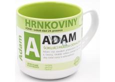Nekupto Hrnkoviny Hrnček s menom Adam 0,4 litra