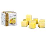 Kozák Svieži citrón prírodné vonný vosk do aromalámp a interiérov 8 kociek 30 g