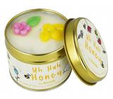 Bomb Cosmetics Med - Uh Huh Honey Vonná prírodné, ručne vyrobená sviečka v plechovej dóze horí až 35 hodín