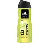 Adidas Pure Game 3v1 sprchový gél na telo, tvár a vlasy pre mužov 400 ml