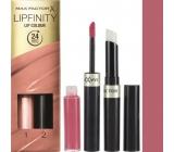 Max Factor Lipfinity Lip Colour rtěnka a lesk 020 Angelic 2,3 ml a 1,9 g