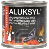 Aluksyl Silikónová vypaľovacia farba Čierna 0199 80 g
