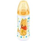 Nuk Disney First Choic láhev plastová kojící 300ml silikonová savička 0-6 měsíců