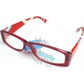 Berkeley Čtecí dioptrické brýle +2,50 oranžové CB02 1 kus R6027