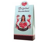 Bohemia Gifts & Cosmetics Pralinky z mléčné a hořké čokolády s náplní se smetanou a Irish whiskey Báječné mamince 100 g