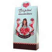 Bohemia Gifts & Cosmetics Báječné mamince Pralinky z mléčné a hořké čokolády s náplní se smetanou a Irish whiskey 100 g