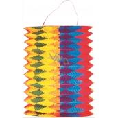 Lampión valec so zvislými pruhmi 15 cm