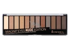 Rimmel London Magnifeyes Nude Edition Eye Contouring Palette paleta očních stínů 001 14,16 g