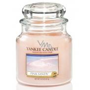 Yankee Candle Pink Sands - Růžové písky vonná svíčka Classic střední sklo 411 g
