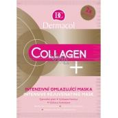 Dermacol Collagen Plus Intensive Rejuvenating Face Mask intenzivní omlazující pleťová maska 2 x 8 ml