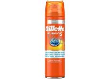 Gillette Fusion 5 Ultra Sensitive Hydratačný gél na holenie 200 ml