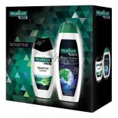 Palmolive Men Sensitive sprchový gel pro muže 250 ml + Palmolive Men Invigorating šampon 350 ml, kosmetická sada