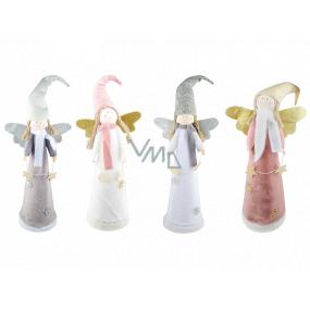 Anjel plyšový so špicatou čiapkou 50 cm na postavenie 1 kus