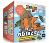 Albi V kocke! Plus Moja prvá obrázky pätnásťminútová hra na precvičenie pamäti a vedomostí odporúčaný vek 4+