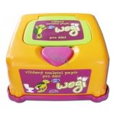 Uni Wogi vlhčený toaletní papír plastový box 60 ks