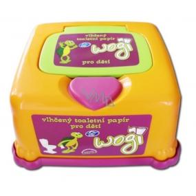 Uni Wogi vlhčený toaletný papier plastový box 60 kusov