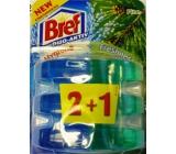 Bref Duo Aktiv Extra Clean & Fresh Borovica WC gél náhradná náplň 3 x 60 ml