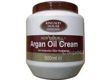 Kingsley House Arganový olej telový krém 500 ml
